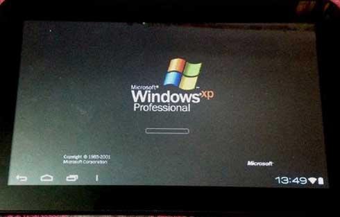 Como instalar Windows XP en dispositivos Android