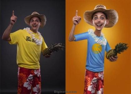 Fáciles Tutoriales de efecto caricatura para hacerlos con Photoshop
