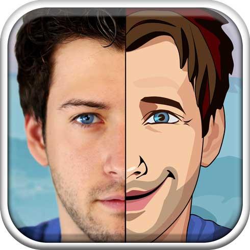 convertir fotos a caricaturas con app