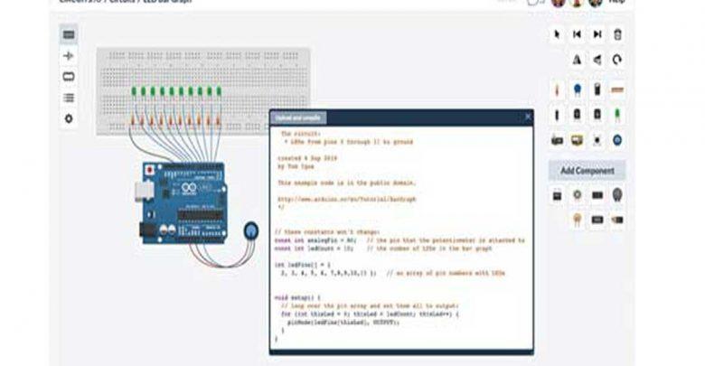 Photo of Excelente simulador de circuitos electrónicos gratis y on-line