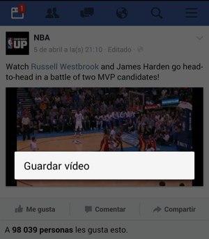 Descargar videos de Facebook facil sin instalara nada