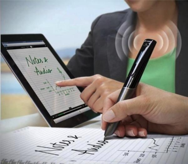 Wi-Fi-pen: Todo lo que escribes en el papel, aparece inmediatamente en la pantalla de tu gadget.