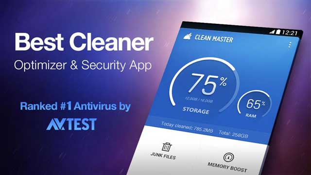 Limpie aplicación principal Optimizar teléfono Android Clean