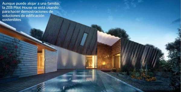 casa ecologica o verde