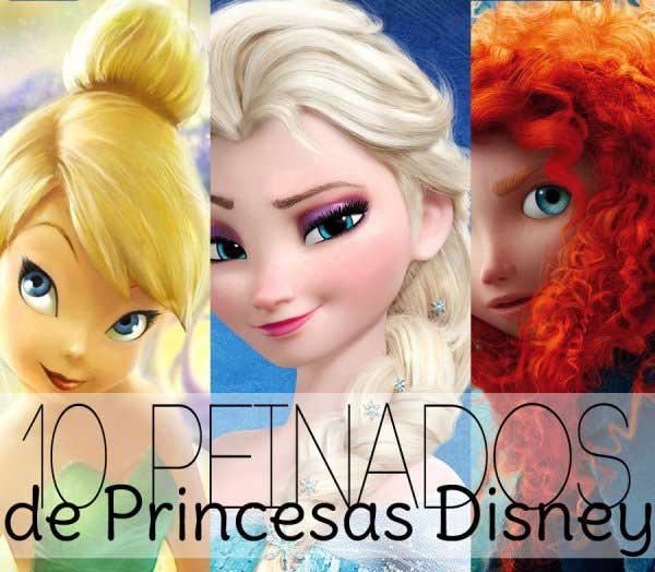 peindos de princesas como hacer