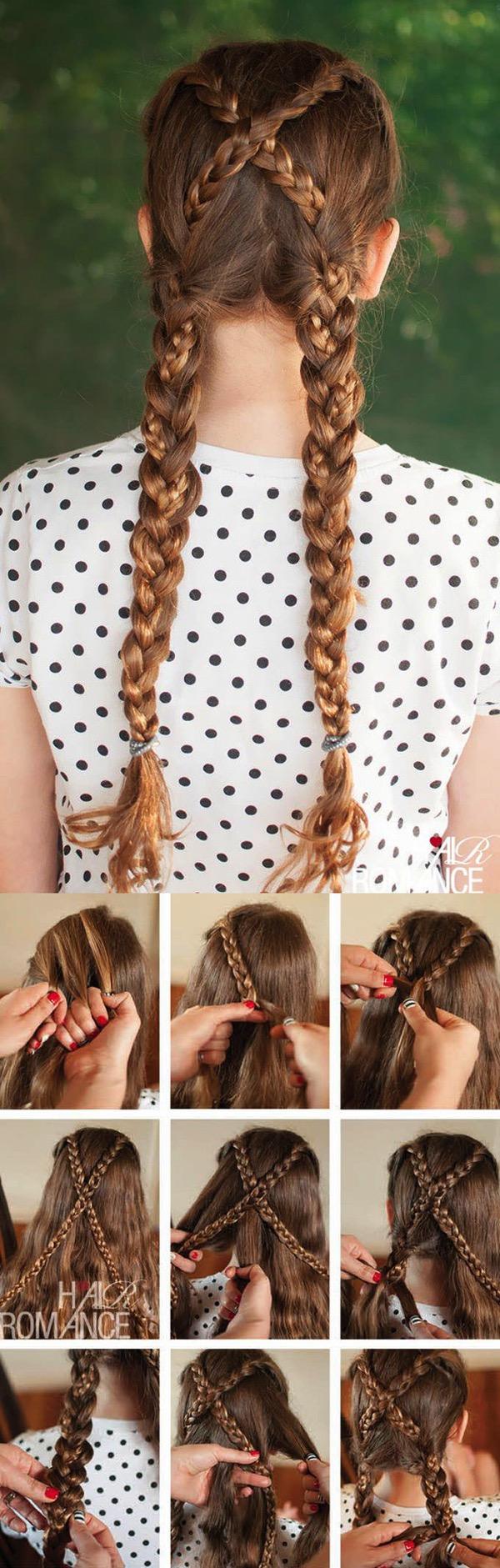 Cómo hacer Peinados de princesa de Disney paso a paso 13