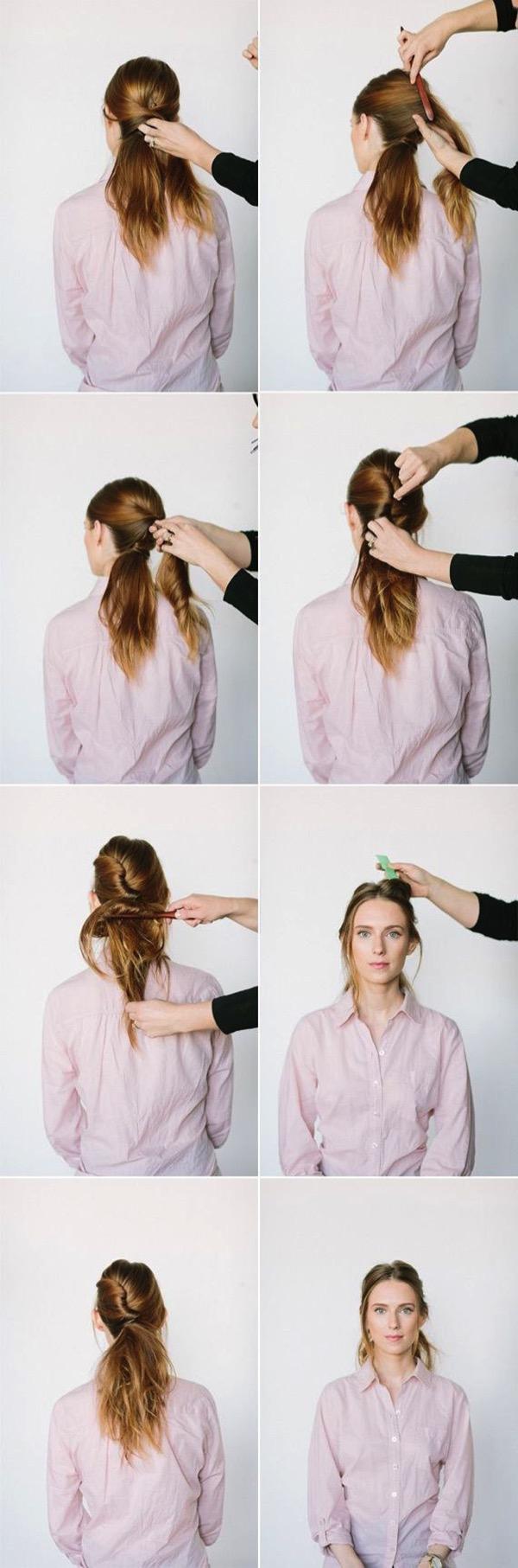 Cómo hacer Peinados de princesa de Disney paso a paso 3