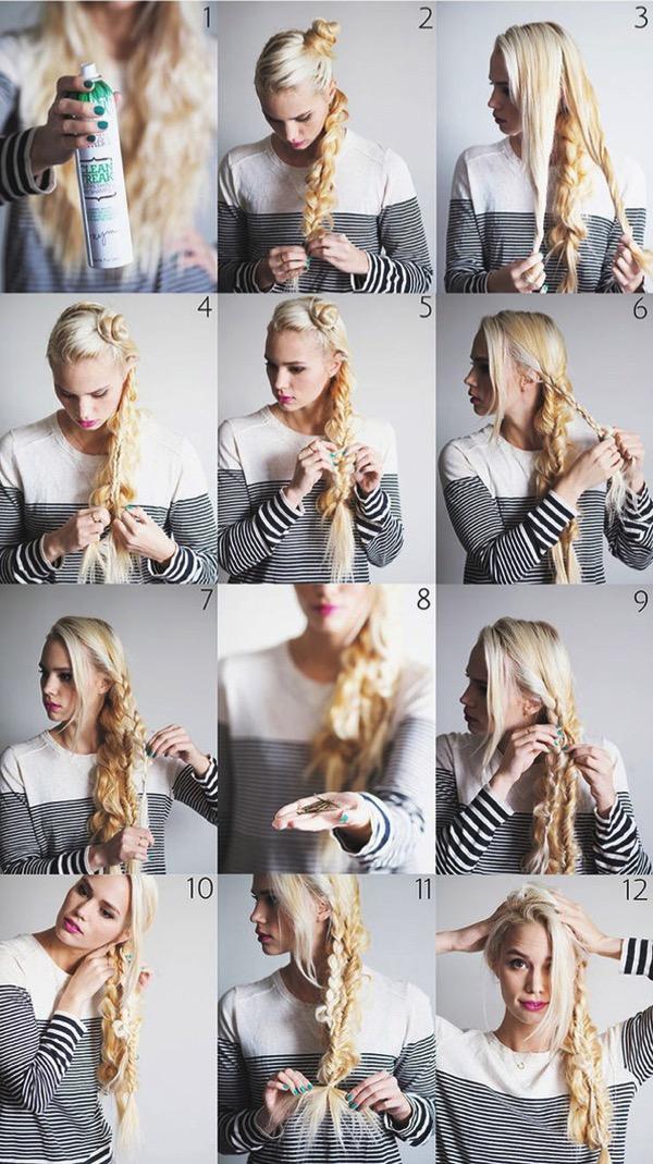 Cómo hacer Peinados de princesa de Disney paso a paso 15