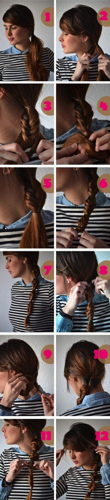 Cómo hacer Peinados de princesa de Disney paso a paso 9