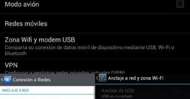 Configurar un Android como Router WIFI y compartir el Internet