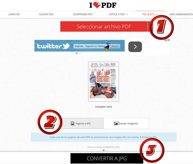 convertir o editar PDF