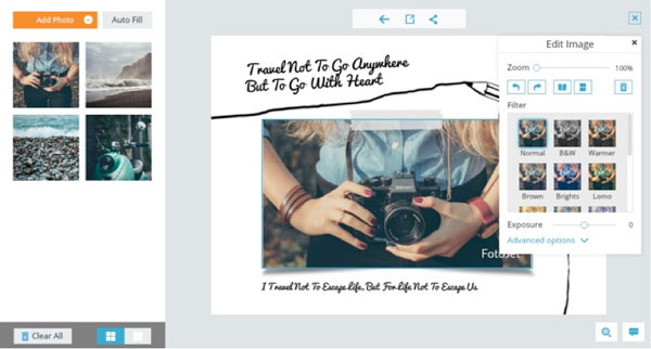 Hacer tarjetas, posters, con tus fotos hasta hacer Espectaculares Facebook covers y mas Gratis