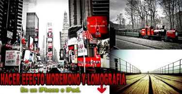 Hacer Efecto LOMO y More Mono: Lomografías