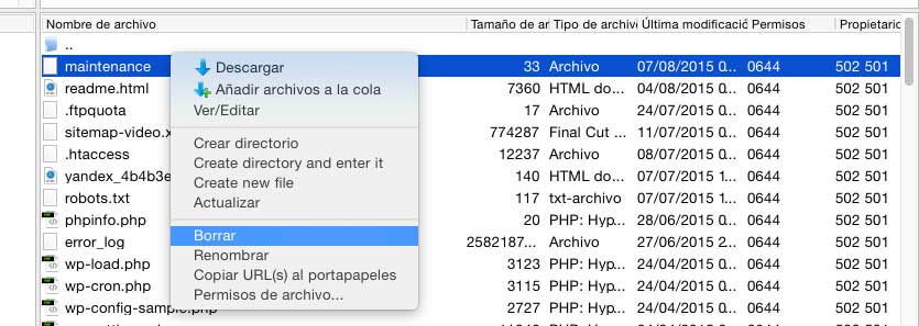 Photo of Solución en WordPress: No disponible por mantenimiento programado. Vuelve a comprobar el sitio en unos minutos