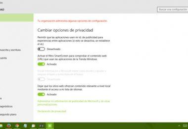 Corregir problemas de seguridad y privacidad en windows 10