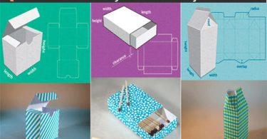 Hacer plantillas y moldes de cajas a la medida personalizadas y gratis