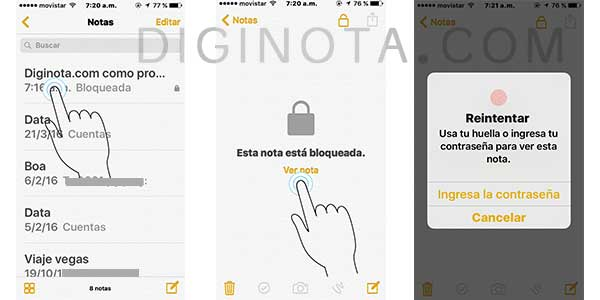 Photo of Como proteger con clave o Touch ID notas en iPhone & iPad