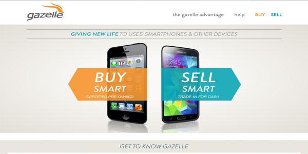 conseguir dinero con tus dispositivos electrónicos usado gazelle
