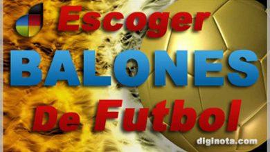 Balones : Cómo escoger un balón de futbol 1