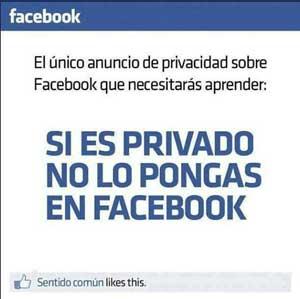 cuida tu privacidad en facebook