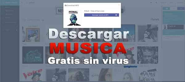 musica gratis mp3 sin-virus y rapido