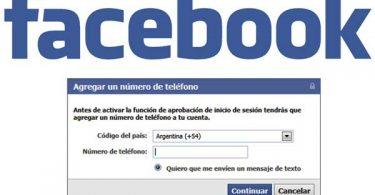 peligro de colocar numero de telefónico en facebook