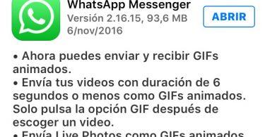 GIFs animados WhatsApp