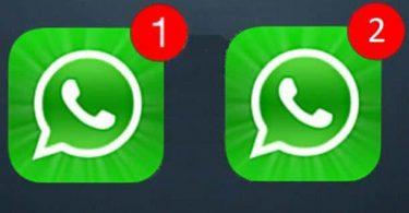 dos cuentas de WhatsApp o Facebook en un solo móvil