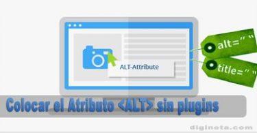 Colocar el Atributo ALT auto en wordpress sin plugins