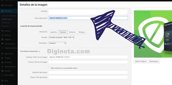 Colocar el Atributo ALT automatico en wordpress sin plugins