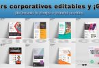 Flyers corporativos editables