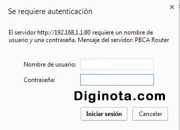 algunos router 192.168.1.1 para configurar