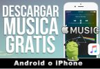 musica gratis descarga en iPhone o android