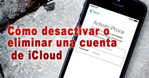 Photo of Cómo desactivar o eliminar una cuenta de iCloud