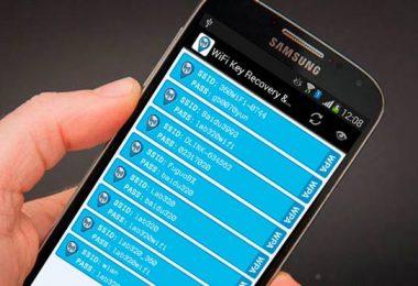 ver contraseñas WiFi guardadas en Android