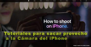 tutoriales de como aprovechar las cámaras de los iPhone