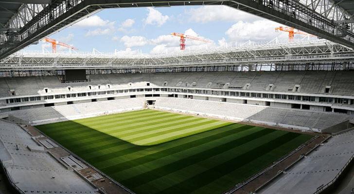 Datos de los estadios o sedes del mundial Rusia 2018 8