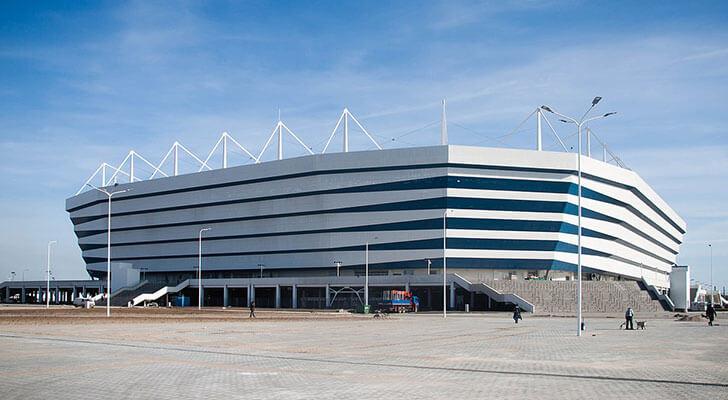 Datos de los estadios o sedes del mundial Rusia 2018 7