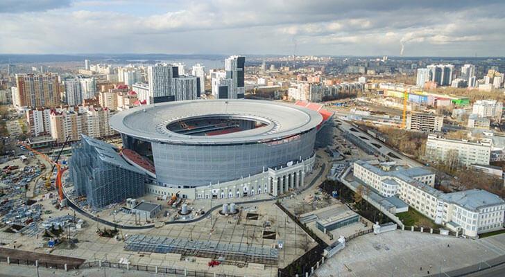 Datos de los estadios o sedes del mundial Rusia 2018 23