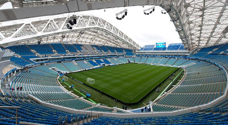 Datos de los estadios o sedes del mundial Rusia 2018 22