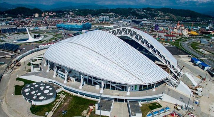 Datos de los estadios o sedes del mundial Rusia 2018 21