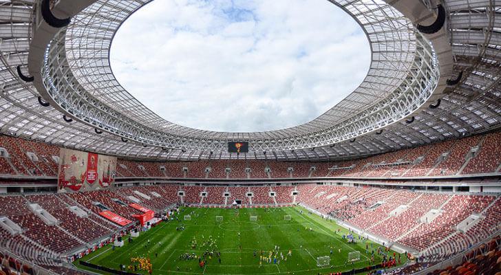 Datos de los estadios o sedes del mundial Rusia 2018 2