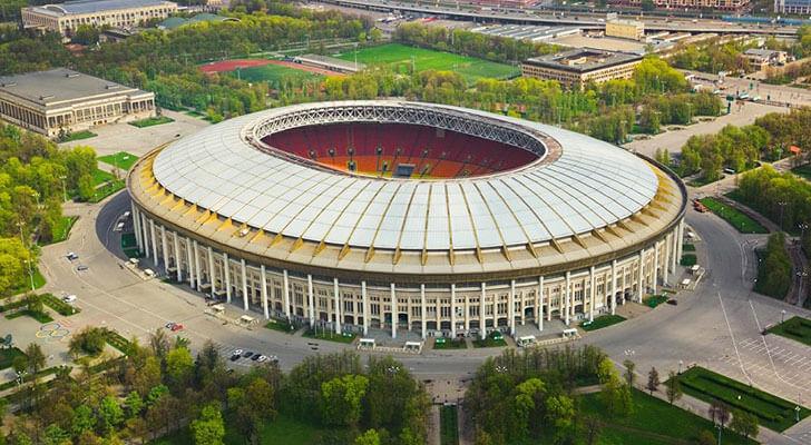 Datos de los estadios o sedes del mundial Rusia 2018 1