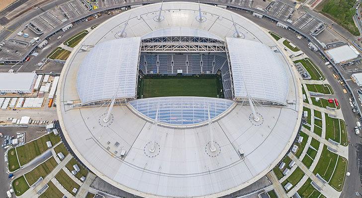 Datos de los estadios o sedes del mundial Rusia 2018 5