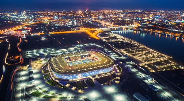 Datos de los estadios o sedes del mundial Rusia 2018 19