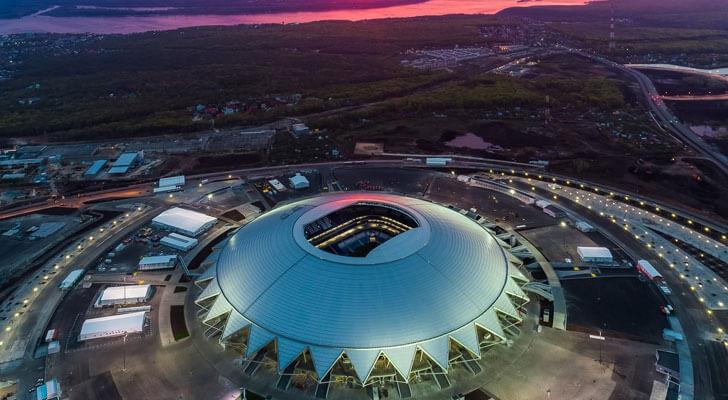 Datos de los estadios o sedes del mundial Rusia 2018 13