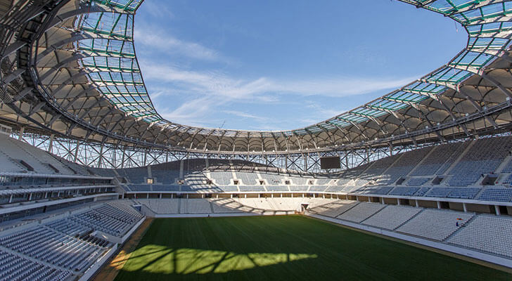 Datos de los estadios o sedes del mundial Rusia 2018 16