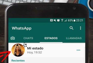 musica en estados whatsapp