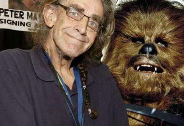 Peter Mayhew, actor que interpreta a Chewbacca
