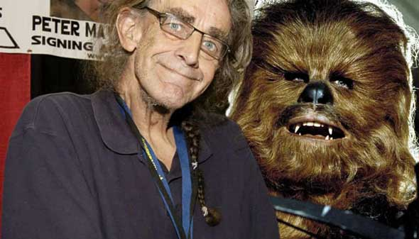 Peter Mayhew, actor que interpreta a Chewbacca